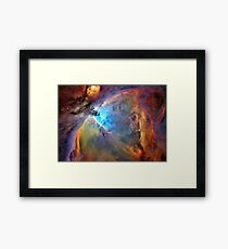 Orion Nebula Space Galaxy  Framed Print