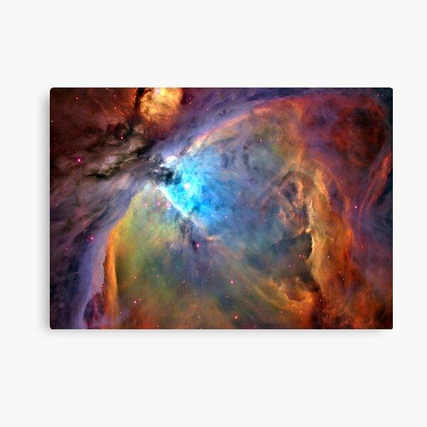 Orion Nebula Space Galaxy, RBSSG Canvas Print