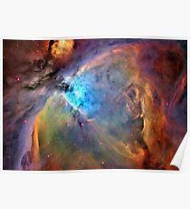 Orion-Nebel-Raum-Galaxie, RBSSG Poster