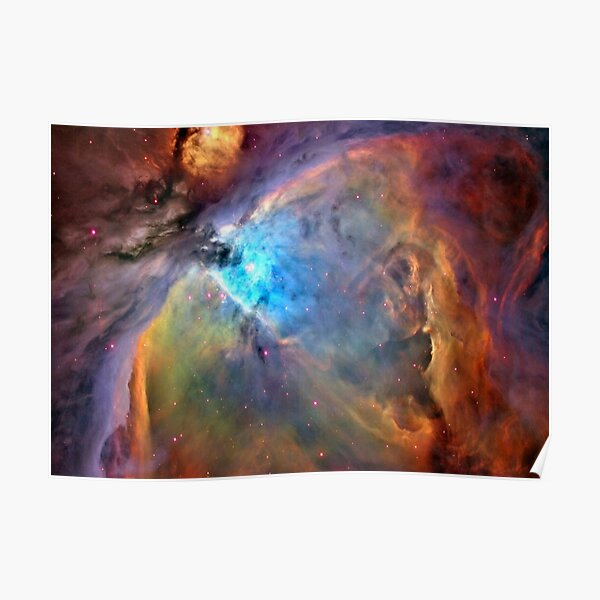 Orion Nebula Space Galaxy, RBSSG Poster