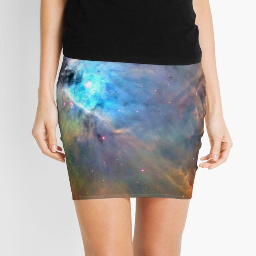 Orion Nebula Space Galaxy, RBSSG Mini Skirt