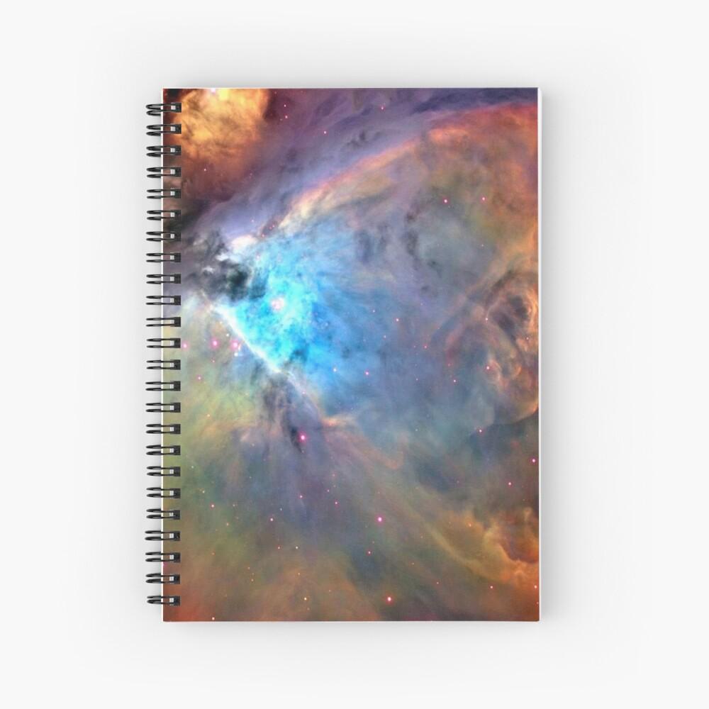 Orion Nebula Space Galaxy, RBSSG Spiral Notebook