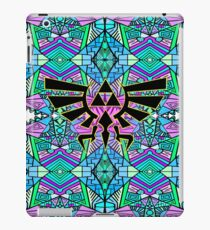 Hylian Royal Crest - Legend Of Zelda - Pattern Blue iPad Case/Skin