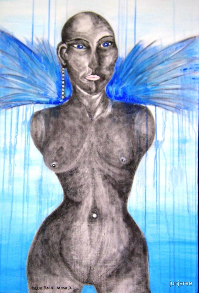 Blue Rain by junjaree