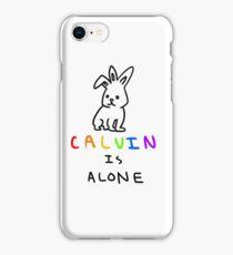 Calvin is Alone iPhone Case/Skin