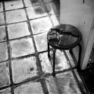 old stool  by colourels