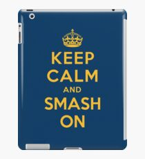 Nashville Predators - Keep Calm (gold on blue) iPad Case/Skin