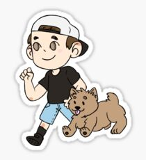 Eric & Sparky Sticker