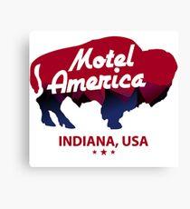 hotel america Canvas Print
