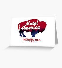 hotel america Greeting Card