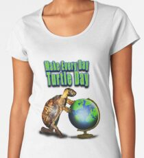 Turtle Day Women's Premium T-Shirt