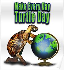 Turtle Day Poster