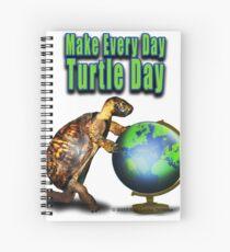 Turtle Day Spiral Notebook