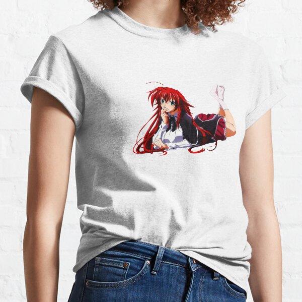 Highschool DxD Rias / Roter Kopf Anime Girl Classic T-Shirt