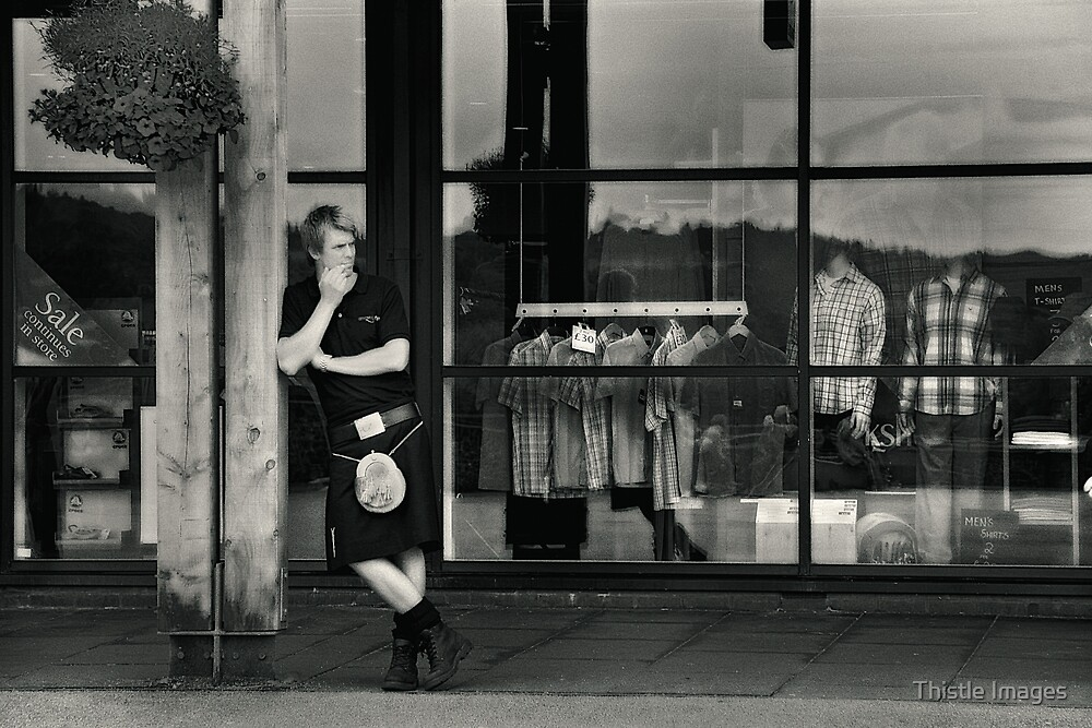 Window Shopping by Thistle Images