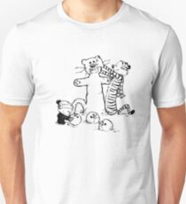 calvin and hobbes b N w Unisex T-Shirt