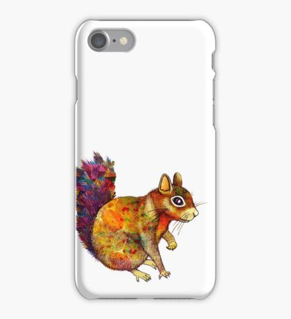 Squirrel Art iPhone Case/Skin