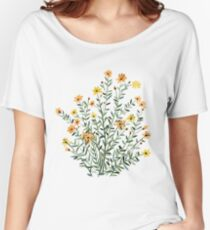 floral , flowers Women's Relaxed Fit T-Shirt