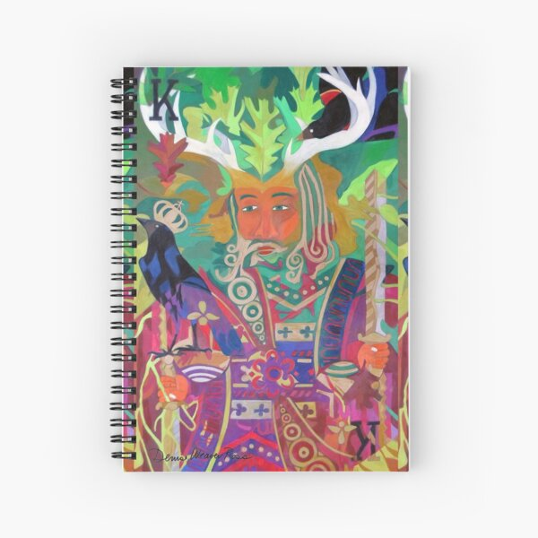 The King of Oaks Spiral Notebook