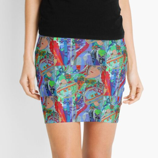 Queen of the Birch Trees Mini Skirt