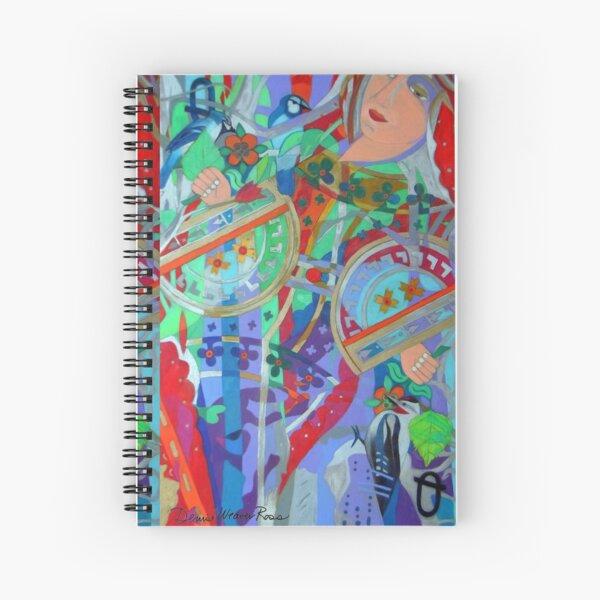 Queen of the Birch Trees Spiral Notebook