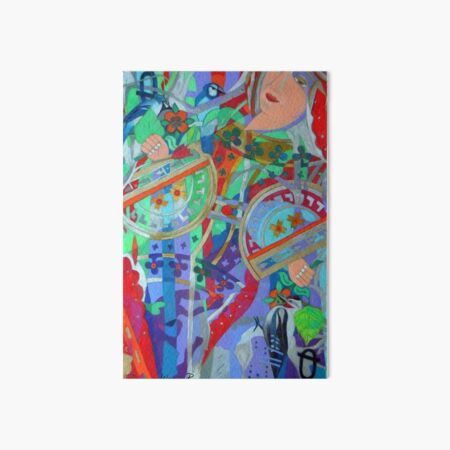Queen of the Birch Trees Art Board Print