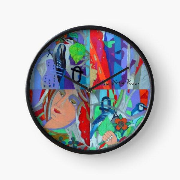 Queen of the Birch Trees Clock