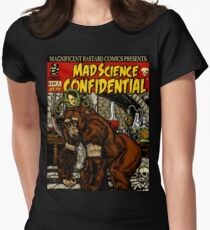 Mad Science Womens Fitted T-Shirt