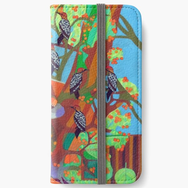 Apogee of an Apricot Tree iPhone Wallet