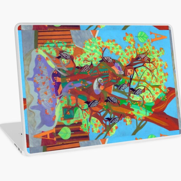 Apogee of an Apricot Tree Laptop Skin