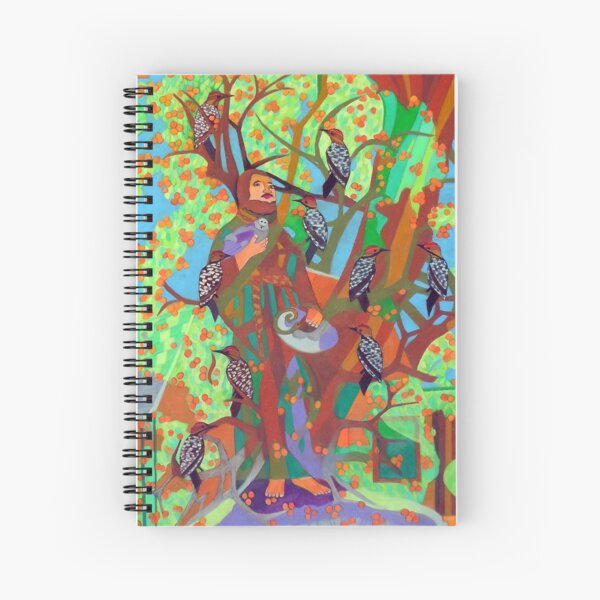 Apogee of an Apricot Tree Spiral Notebook