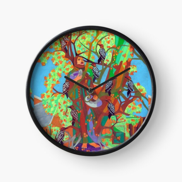 Apogee of an Apricot Tree Clock