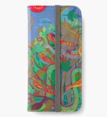 Two Trees and Fig Leaves in the Garden of Desire iPhone Wallet/Case/Skin