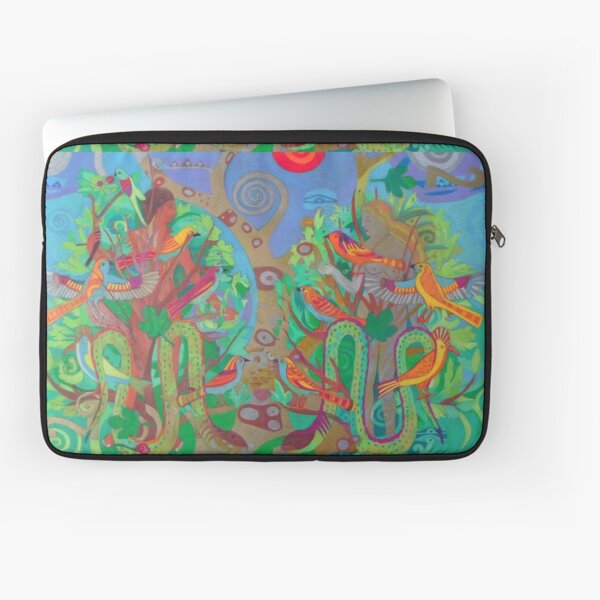 Two Trees and Fig Leaves in the Garden of Desire Laptop Sleeve