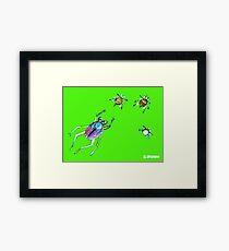 insect whisper Framed Print