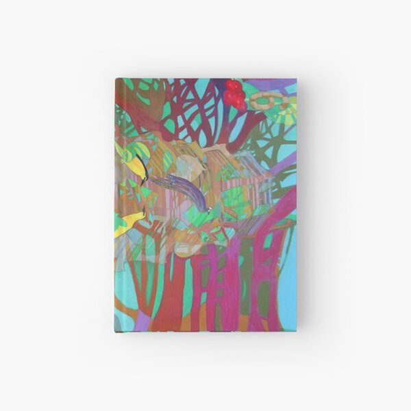 Six of Banyan Trees Hardcover Journal
