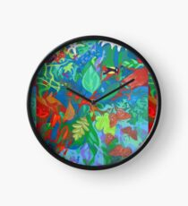 Five of Sacred Trees Clock