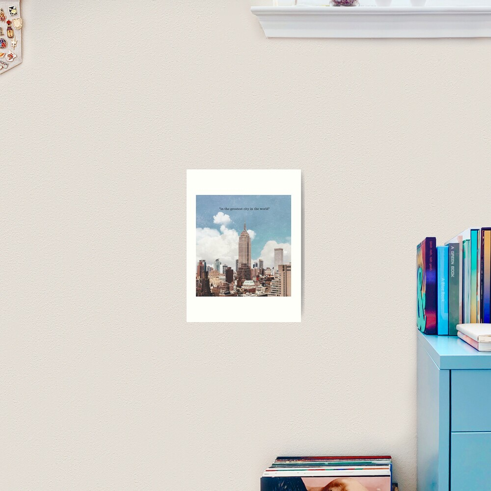The Greatest City Art Print