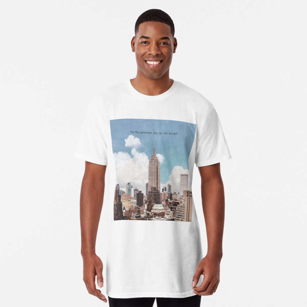 La mejor ciudad Camiseta larga