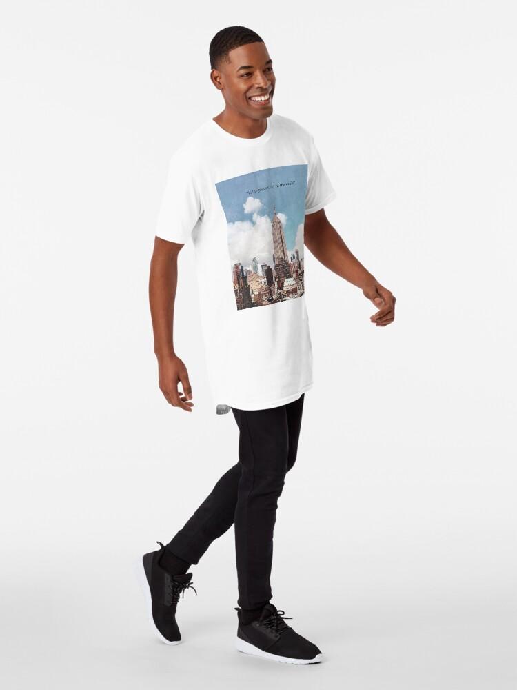 Vista alternativa de Camiseta larga La mejor ciudad