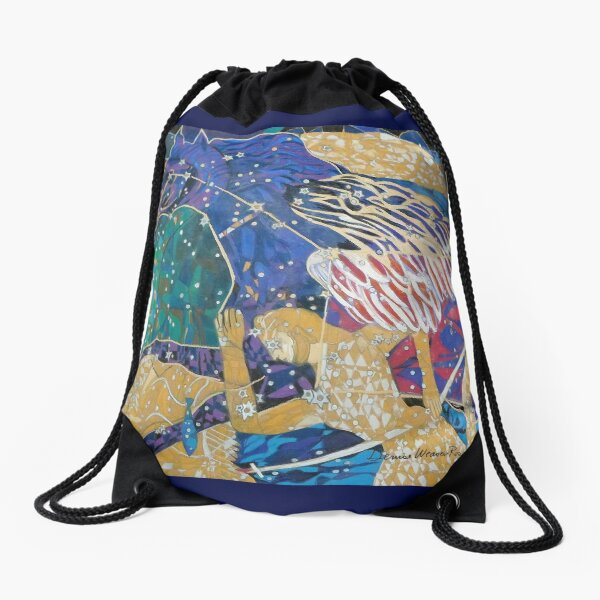 The Great Square Drawstring Bag