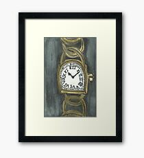 Watch Of Gold Framed Print