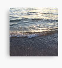 Sunny Water Canvas Print