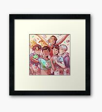 Hamster Party Framed Print