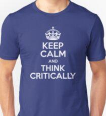 Kritisches Denken Slim Fit T-Shirt