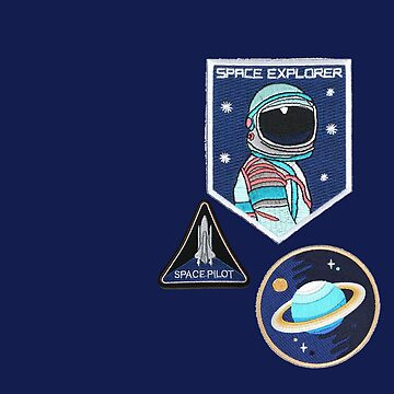 Space Explorer Patches by jacqs