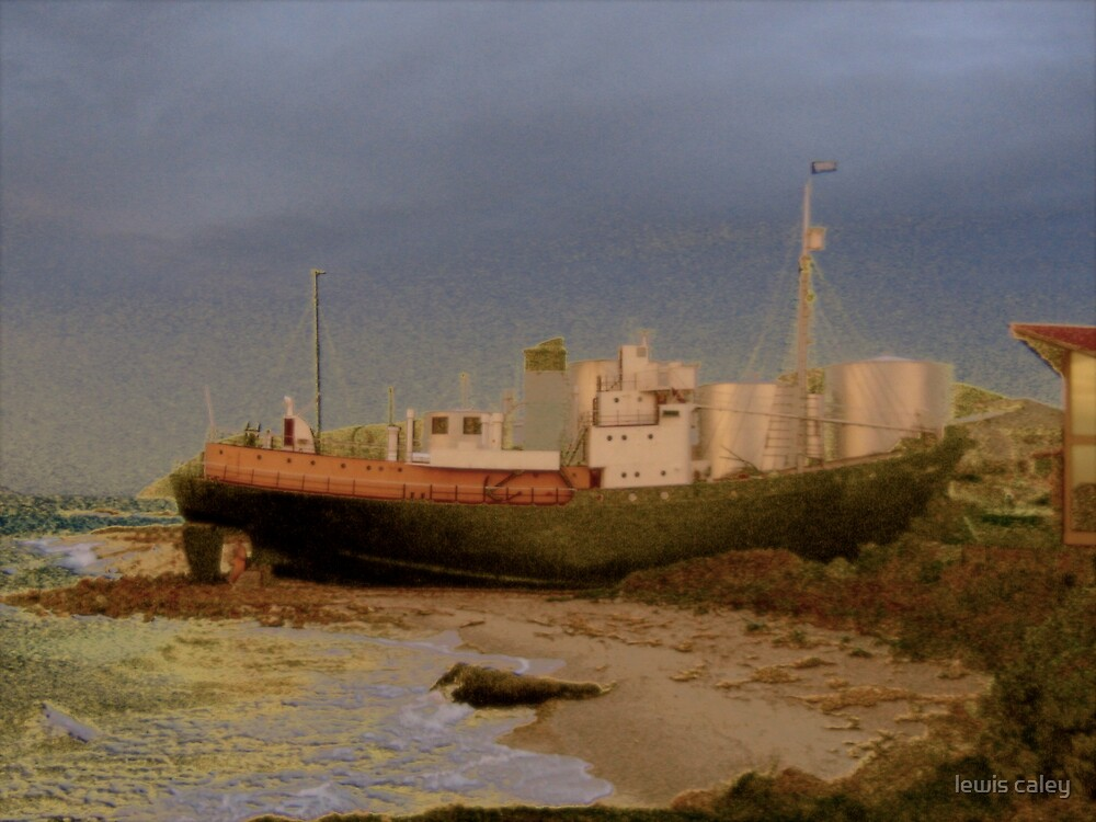 The old Whaler by lewis caley