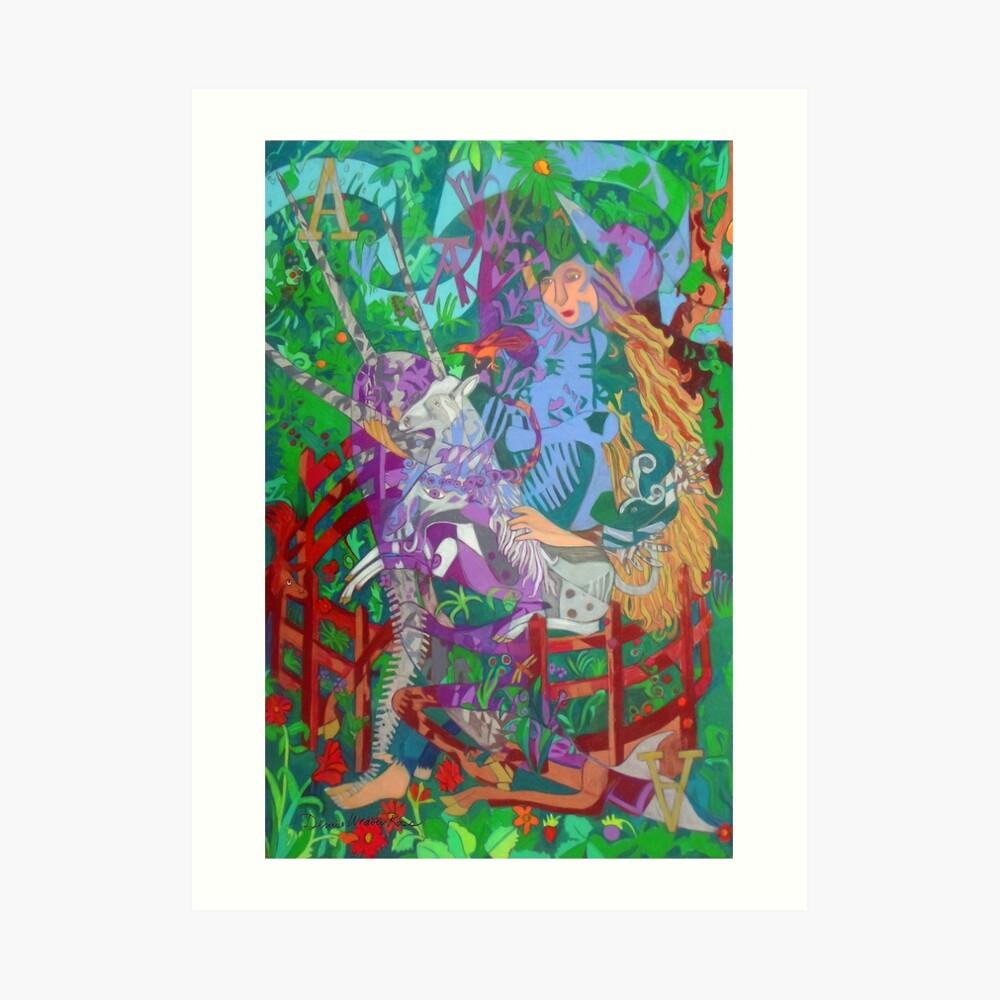 Archeology of the Unicorn Art Print