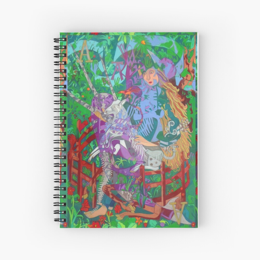 Archeology of the Unicorn Spiral Notebook