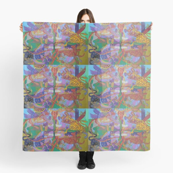 Four Corners of the Mind Scarf